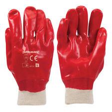 Genuine Silverline Red PVC Gloves L 10 | 447137