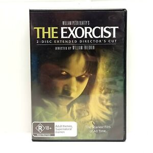 The Exorcist DVD - 2 disc Extended Directors Cut LIKE NEW CONDITION (PAL)