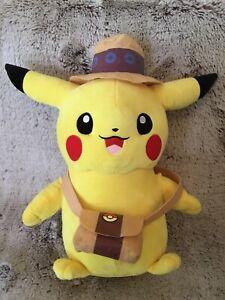 Pokemon Pikachu Plush 48cm, Explorer Pikachu, Like New Condition