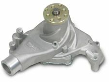 Weiand Water Pump 9212; Action Satin Aluminum Mechanical for Chevy 396-454 BBC