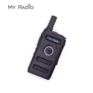 SenHaiX 1420 Ultra-thin Fashion-design hide volume control Radio Mini Transeiver