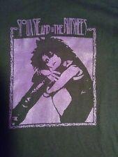 SIOUXSIE & the BANSHEES boots T-Shirt XL large small or medium   goth femme punk