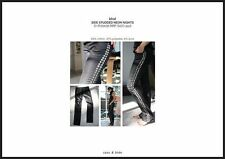 Sass & Bide Black Wax Neon Nights jeans sz 25 7 8 NEW RRP $420 She Had a Gun