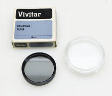 Vivitar 49mm CIRCULAR Digital & SLR 35mm CPL Polarizer Camera Lens Filter JAPAN