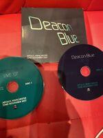 Deacon Blue 2 CD set concertlive Apollo Manchester 2007 rare live Ricky Ross