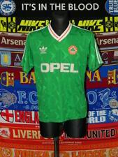 4.5/5 Ireland (Eire) adults L 1990 original adidas football shirt jersey soccer