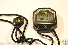 Vintage Timex J Cell Digital LCD Black  Stopwatch