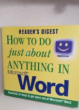 How to Do Just about Anything in Microsoft Word : Hundreds of Ways to Get More …