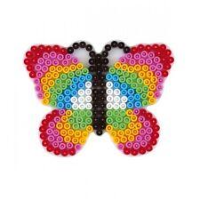 HAMA midi Bügelperlen-Stiftplatte weiß Nr.298 Schmetterling