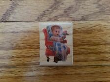 Rubber Stampede Cynthia Hart Babe in Bows Baby Stamp arts & craft