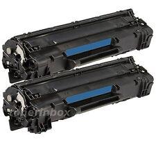 *2 pk CB435 CB435A 35A Compatible Toner Cartridge For LaserJet P1005 P1006