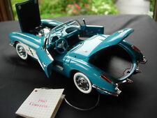 Franklin Mint 1/24th scale 1960 Chevrolet Corvette Convertible-NICE-