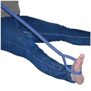 Leg Lifter Portable Leg Lifting Strap With Durable & Rigid Hand Strap & Foot