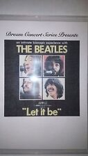 "Dream Concert Series Presents: Beatles "" Let it Be"" movie w/Chapters rare"