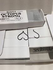 Raven Octopus Hooks, Size 6,  100 Ct Box