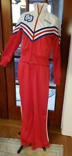 Jogging Suit By Instant Action Red White Blue Polyester 'Varsity 89'