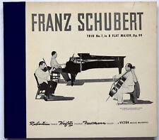 Franz Schubert: Trio No. 1 in, B Flat Major, Op. 99; RCA Victor Set DM-923