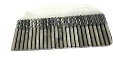 25 Pcs Slightly Used Solid Carbide End Mill Lot 25 Dia Diamond Coated