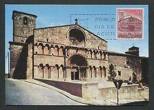 SPAIN MK 1966 SORIA ST. DOMINGO CHURCH KIRCHE CARTE MAXIMUM CARD MC CM d3969