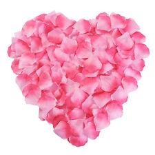 2000pcs Purple Silk Rose Flower Petals Engagement Decorations Wedding Confetti