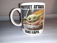 "New Star Wars The Mandalorian Baby Yoda ""The Child"" Ceramic 20 Oz. Coffee Mug"