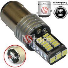 LAMPADA LED Stop Freni BAY15D 1157 P21/5W 30 SMD 4014 CAMBUS BIANCO No Errore