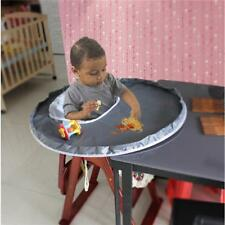 Waterproof Baby High Chair Cover Mats Feeding Eating Folding Table Mat SS