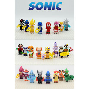 Sonic The Hedgehog Series NEW Super Minifigures Custom Sets Building Toys DIY