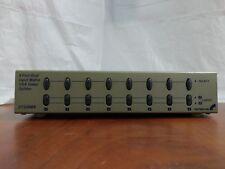 StarTech ST228MX 2x8 High Resolution Matrix VGA Video Switch Used