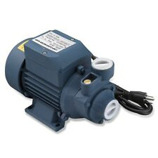Water Pump | 1/2HP Electric Clear Transfer Centrifugal Bio Diesel Pond Pool Farm