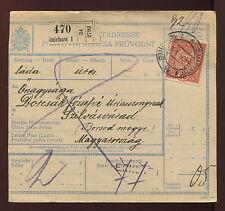 Post-Begleitadresse 1923 aus Smichov 1   10/8/14