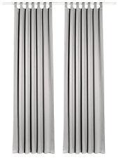 Horn Textiles Sopran 9 schal Stückgefärbt mit Universalgardinenband 245 X 135 Cm grau