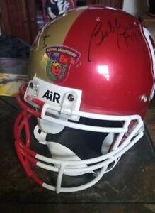 FSU/Oklahoma Multi Signed Helmet from Coaches Luncheon 2000 Championship