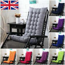 Sun Lounger Cushion Pad Replacement Chair Seat Recliner Cotton Garden Outdoor#