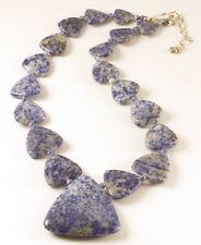 "MINE FINDS by JAY KING Blue Regatta Stone 19.5"" Necklace, Sterling Silver"
