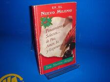 Libro PENSAMIENTOS SELECTOS….DE PAZ, AMOR, FE Y ESPERANZA