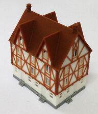 Outland Models Train Railway Layout Half Timbered House (Medium) Z Scale 1:220