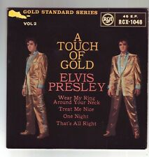 ELVIS PRESLEY A TOUCH OF GOLD VOL2 1960 ROUND CENTER EP RARE IN ORIGINAL SLEEVE