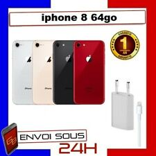 APPLE IPHONE 8 64GB NOIR ROUGE OR ARGENT RECONDITIONNE Pas cher
