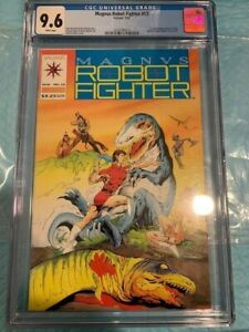 Magnus Robot Fighter #12 CGC 9.6 OWT White Pages (1992) 3703305013