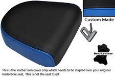 Luz Azul Y Negro Custom encaja Hyosung Gv 650 Aquila 04-11 respaldo cojín cubierta
