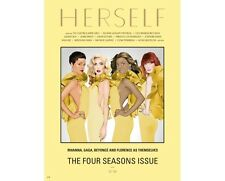 HERSELF Magazine # 4,Rihanna,Beyonce Lady Gaga Florence Welch Gayatri Devi
