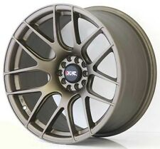 "XXR 530 18"" 8.75J 9.75J SPLIT SIZES FLAT BRONZE WIDE RIMS ALLOYS WHEELS Z1675/76"