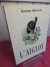 L'AIGLON Edmond Rostand sur Alpha illustré de 10 hors texte couleur E.Martin