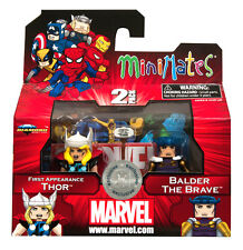 MARVEL MINIMATES_First Appearance THOR and BALDER The Brave 2-Pack_Exclusive_MIB