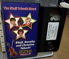 SHOJI TABUCHI Show Branson violin VHS 2002 Mardi Gras Medley Hawaiian country