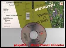"""Ludwig Van BEETHOVEN """"Symphonies 2 & 6 Pastorale"""" (CD Digipack) 1996"""