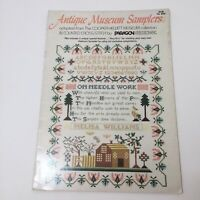 Summer By Paragon Needlecraft Vintage Cross Stitch Pattern Leaflet 1983 Hoosick River Grandma Moses