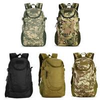 25L Waterproof Backpack Hiking Camping Rucksack Laptop Shoulder Bag - 5 Colors