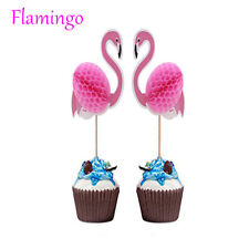 Flamingo Cupcake Toppers DIY Cakes Topper Picks Pineapple Topper Party Decor